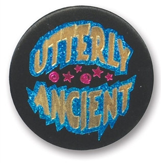 Utterly Ancient Satin Button
