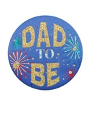 Dad To Be Satin Button
