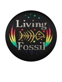 Living Fossil Satin Button