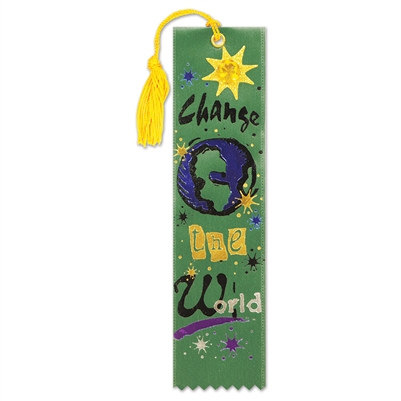 Change The World Jeweled Bookmark