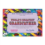 World's Greatest Grandfather Award Certificates (6 Certificates/Pkg)