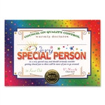 Very Special Person Award Certificates (6 Certificates/Pkg)