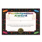 Participation Award Certificates (6 Certificates/Pkg)