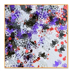 Black Widow Spiders Confetti