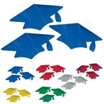 Metallic Graduation Cap Cutouts
