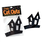Halloween Haunted House Cutouts