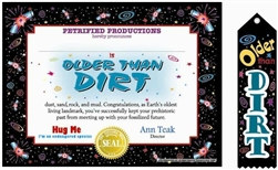 Older Than Dirt Gift Set
