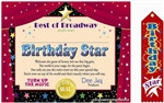 Birthday Star Gift Set