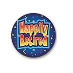 Happily Retired Flashing Button