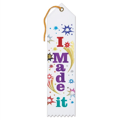 I Made It! Award Ribbon