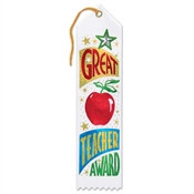 Great Teacher Award Jeweled Ribbon