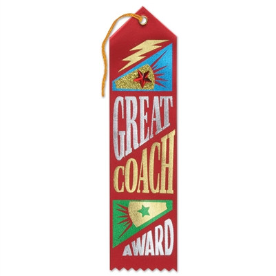 Great Coach Award Jeweled Ribbon