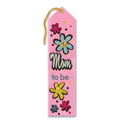Mom To Be Jeweled Ribbon