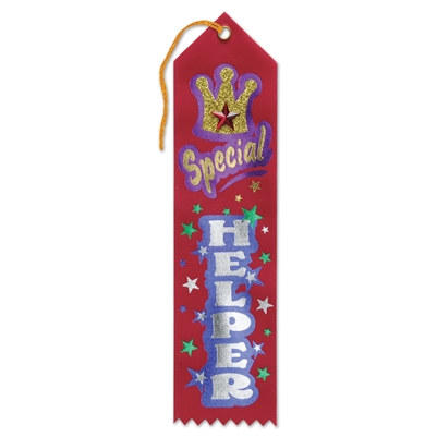 Special Helper Jeweled Ribbon