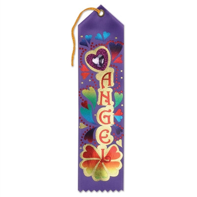 Angel Jeweled Ribbon
