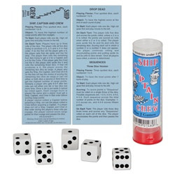 Ship Captain Crew Dice Game