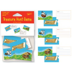 Pirate Treasure Hunt Game (24/pkg)