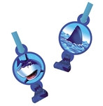 Shark Party Blowouts (8/pkg)