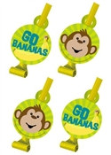 Monkey Party Blowouts (8/pkg)
