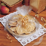 Clear Small Basket Cello Bag (6/pkg)