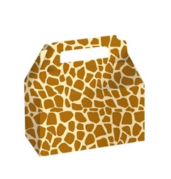 Giraffe Print Treat Boxes (2/pkg)