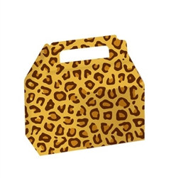 Leopard Print Treat Boxes (2/pkg)