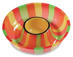 Plastic Fiesta Chip and Dip Tray