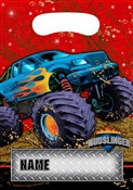 Monster Truck Party Loot Bags (8/pkg)