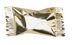 Metallic Gold Buttermint Creams (50/pkg)