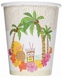 Island Luau Hot/Cold Cups (14/pkg)