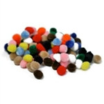 Multi Craft Pom Pom (100/pkg)