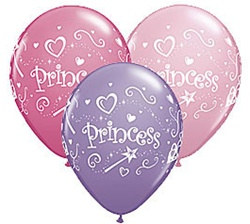 Princess Latex Balloon