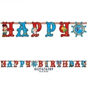 Jake and the Neverland Pirates Birthday Banner