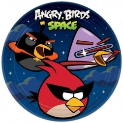 Angry Birds Lunch Plates (8/pkg)
