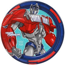 Transformers Lunch Plates (8/pkg)
