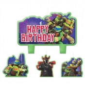 Teenage Mutant Ninja Turtles Birthday Candle Set (4/pkg)