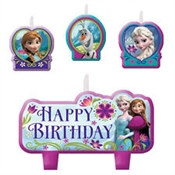 Frozen Birthday Candle Set (4/pkg)