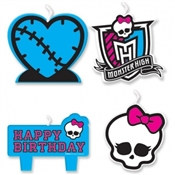 Monster High Candle Set (4/pkg)