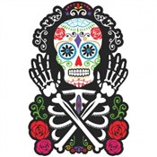 Day of the Dead Skeleton Cutout