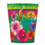 Luau Party Hot/Cold Cups (8/pkg)
