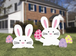 Bunny Lawn Signs