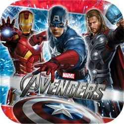The Avengers Lunch Plates (8/pkg)