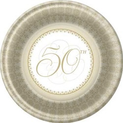 50th Anniversary Dinner Plates