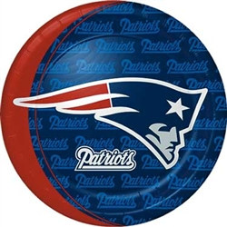 New England Patriots Dinner Plates (8/pkg)