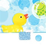 Splish Splash Rubber Duckie Lunch Napkins (16/pkg)