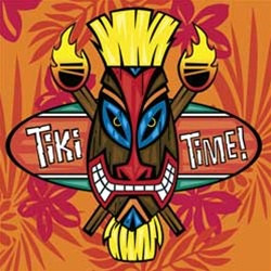 Tiki Time Lunch Napkins (16/pkg)