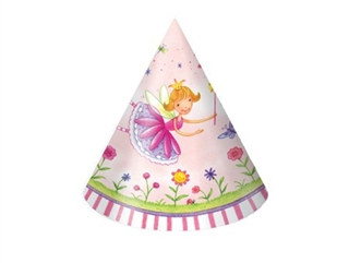 Garden Fairy Party Hats (8/pkg)