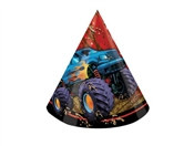 Monster Truck Party Hats (8/pkg)