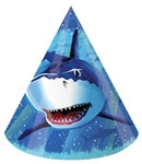 Shark Party Hats (8/pkg)