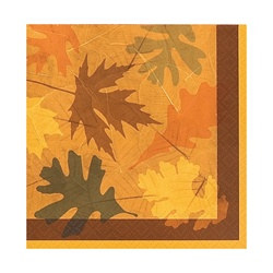 Turning Leaves Beverage Napkins (16/pkg)